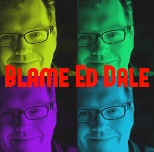 Four close ups of Ed Dale in multiple colors