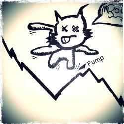 an image of a cartoon cat bouncing